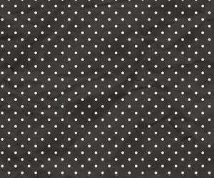 black and white, polka dots, and wallpaper image