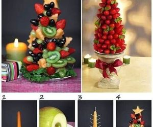 christmas, fruit, and diy image