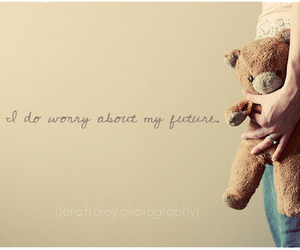 bear, quote, and teddy image