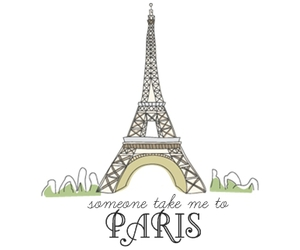 paris, eiffel tower, and text image