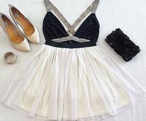 dress and purse image