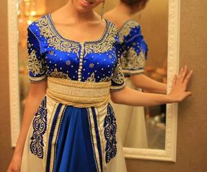 caftan and blue image