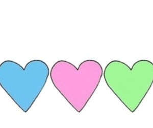 transparent, hearts, and tumblr image