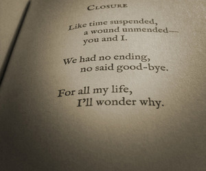 life, love, and closure image