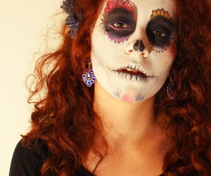 Halloween, the miau factory, and mexican image