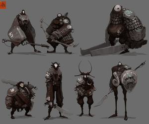 concept art, fantasy, and charcters image