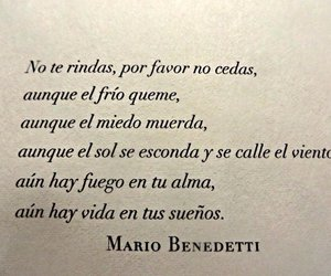 mario benedetti, frases, and Dream image