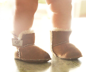 baby, boots, and ugg image
