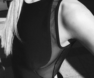b&w, black, and black clothes image