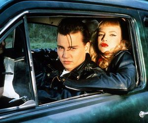 cry-baby, johnny deep, and traci lords image
