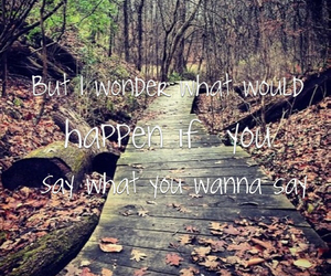 brave, what would happen, and Lyrics image