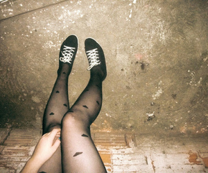 black, girl, and legs image