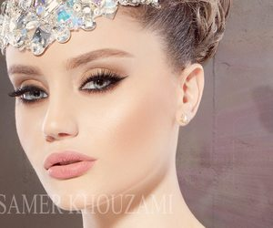 makeup, maquillaje, and perfect face image