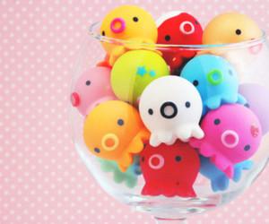 cute, kawaii, and colors image