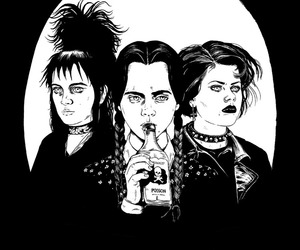 The Craft, beetlejuice, and grunge image