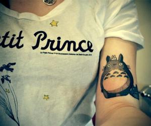 tattoo, totoro, and petit prince image