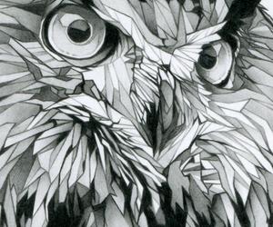 art, illustration, and owl image