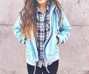 fall, fashion, and flannel image