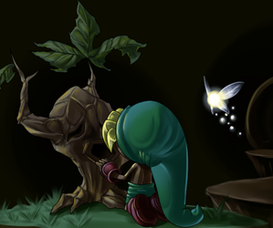 fanart, Legend of Zelda, and majora's mask image