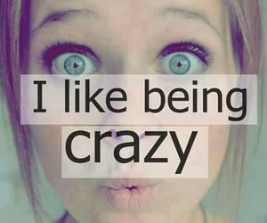 crazy, like, and eyes image