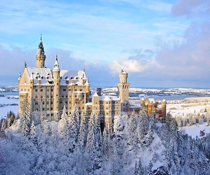castle, beautiful, and germany image