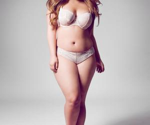 lingerie, women, and curvy girl image