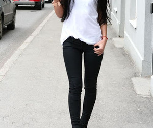 beautiful, jeans, and style image