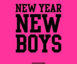 boy, pink, and new year image