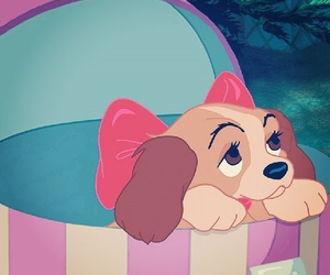 christmas, present, and the lady and the tramp image