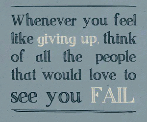 quote, fail, and life image
