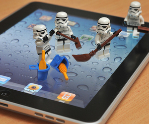 star wars, ipad, and photography image