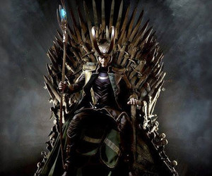 loki, throne, and game of thrones image