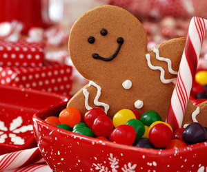 candy, christmas, and Cookies image