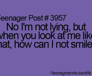 smile, teenager post, and lying image