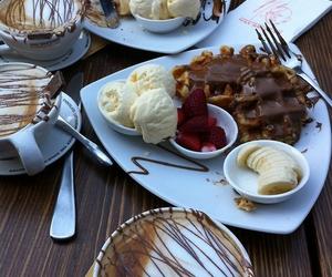 chocolate, coffee, and fruit image