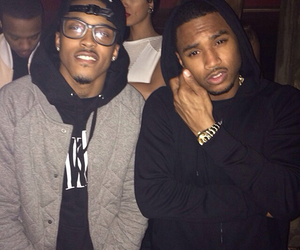 August, black, and trey image