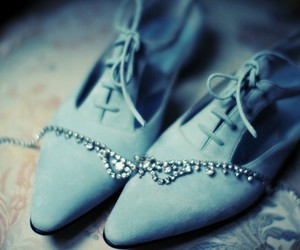 blue, shoes, and making magique image