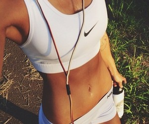 abs, fit, and hip bones image