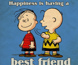best friends, peanuts, and snoopy image