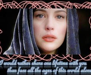 arwen, beautiful, and lord of the rings image