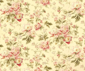 pattern and roses image