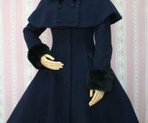 long sleeve dress, princess dream, and fashion coats image