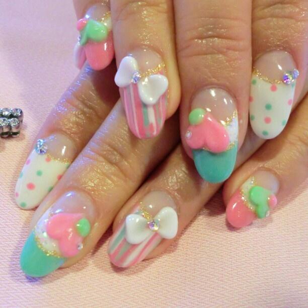 Image About Nails In Kawaii Nail Fetish