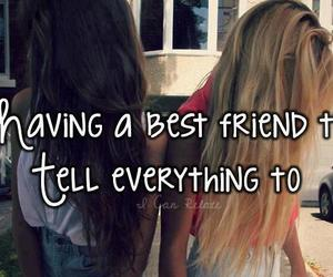 best friends, friends, and blonde image