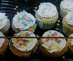 candy, cupcakes, and collor image