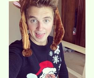 christmas, youtubers, and christmas sweater image