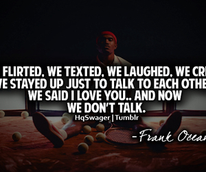 quote, frank ocean, and love image