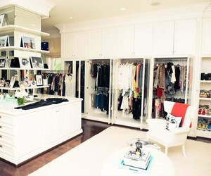closet, clothes, and bedroom image