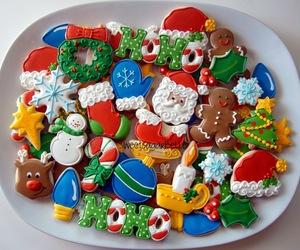 Cookies, christmas, and cake image