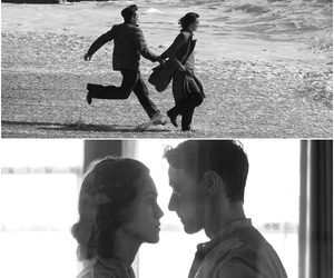 atonement, keira knightley, and beach image